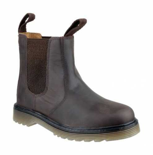 AMBLERS CHELMSFORD CHELSEA DEALER BOOT BROWN