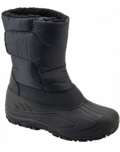 MID CALF LENGTH WATERPROOF MUCKER BOOTS BLACK