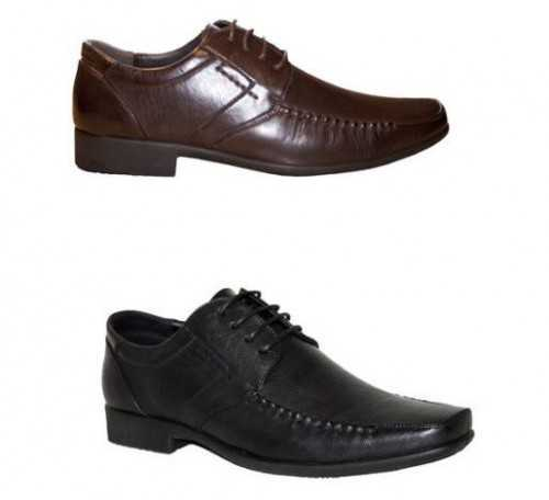 Mens Black Brown Lace Up Classic Smart Formal Work Office Comfortable Shoes # Mens Shoes