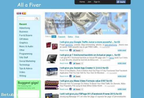 FIVERR CLONE WEBSITE FOR SALE!!!!