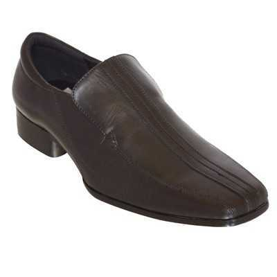 MEN'S FORMAL SLIP-ON SHOES BLACK # Mens Shoes