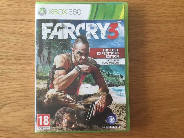 Far cry 3 for Microsoft Xbox 360