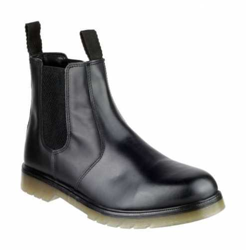 AMBLERS COLCHESTER CHELSEA DEALER BOOT BLACK