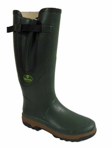 MENS GENTS QUALITY CLASSIC GREEN ADJUSTABLE WETLANDS WELLIES WELLINGTON BOOTS