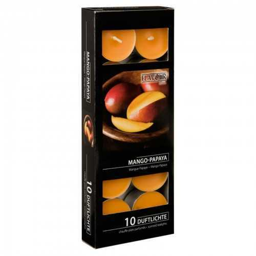 Scented Tea Lights pack Mango-Papaya by Gala Candles