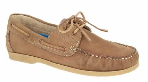 DECK SHOES LEATHER TAN # Deck Shoes