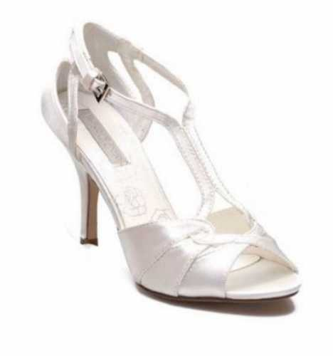 OCCASION WEDDING SANDALS IVORY # Heels
