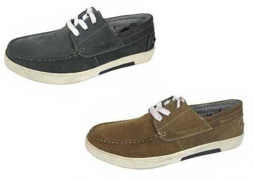 Mens Navy Or Brown Tan Helmsman Nubuck Leather Lace Up Boat Deck Shoe **NEW FOR 2013** # Deck Shoes
